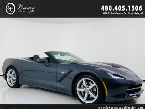 Pre-Owned 2014 Chevrolet Corvette Stingray Convertible