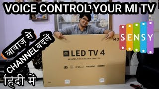 Xiaomi Mi TV 4, 55 inch 4K HDR TV | VOICE REMOTE| VOICE CONTROL CHANGE CHANNEL BY VOICE TECH INFO 39