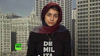 В США мусульманка-блогер подверглась нападкам в прямом эфире за критику внешней политики Вашингтона