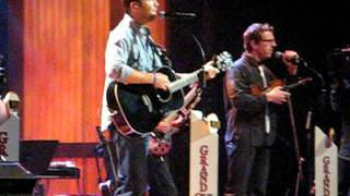 Josh Turner- w pregnant wife Jennifer playing piano! All Over Me- live at the Opry.
