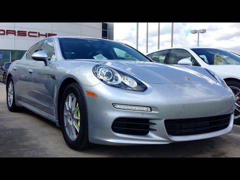 2015 Porsche Panamera S E-Hybrid Full Review, Start Up, Exhaust
