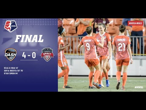 Samenvatting Houston Dash - Washington Spirit
