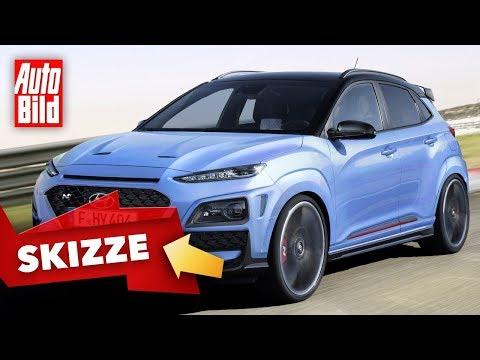 Hyundai Kona N (2020): Neuvorstellung - Skizze - SUV - Infos - deutsch