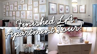 Finished LA Apartment Tour | CHLOE LUKASIAK