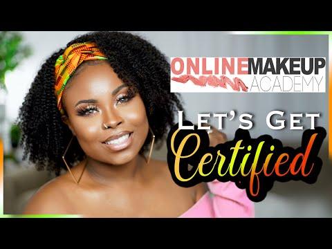 The Online Makeup Academy Makeup Master Course | MUA Certification Online