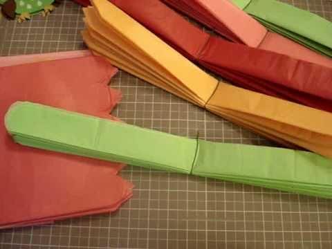 Tissue Pom Pom Tutorial and more!