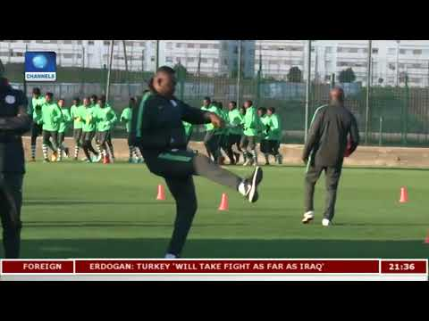 2018 CHAN: Eagles Focused On Angola Clash |Sports Tonight|