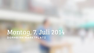 preview picture of video 'Friedensmahnwache Dornbirn 7. Juli 2014'