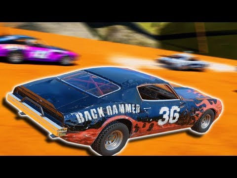 HOT WHEELS TRACKS RACING & DEMO DERBY! - Next Car Game: Wreckfest Gameplay - Wrecks, Crashes & Races