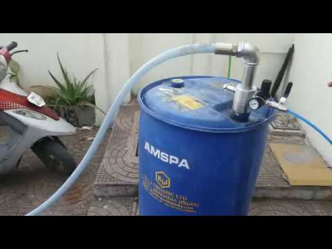 Pneumatic Barrel Pump