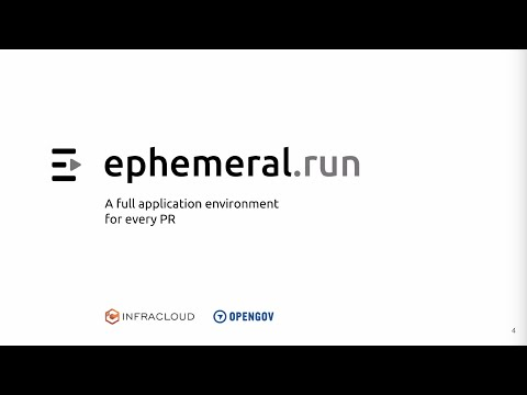 ephemeral.run: A full application environment for every PR–before you merge to master!