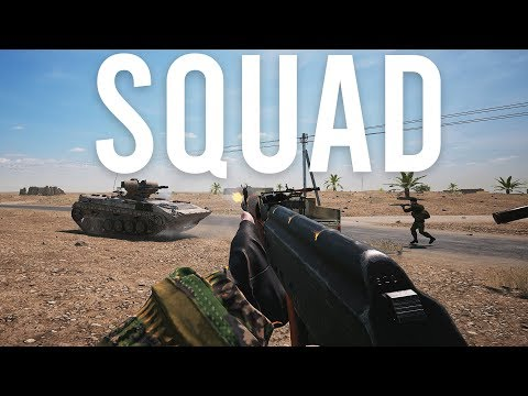 I played SQUAD and it was good
