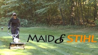 Вычесыватель газона STIHL MF-MM 46017404601 - видео №1