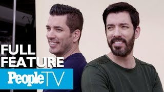 Property Brothers On Their Family Business, Love Lives & Past Decade Of Home Renovations | PeopleTV