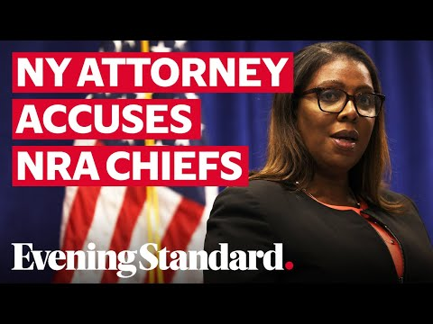 New York attorney general lists damning allegations against NRA chiefs