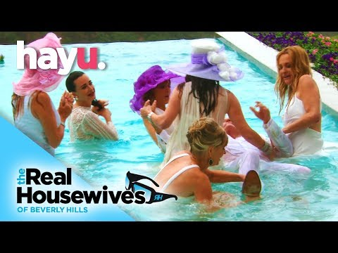 English Garden Party Gets Wet'N'Wild | Real Housewives of Beverly Hills