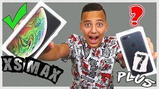 НОВЫЙ IPhone Xs Max Space Gray ОБЗОР и СРАВНЕНИЕ с IPhone 7 Plus Первые ВПЕЧАТЛЕНИЯ от Sasha Show