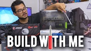 How To Build A PC! Step By Step