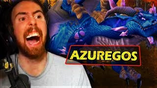 Asmongold AMAZING Fight VS His FIRST WORLD BOSS In Classic WoW - Azuregos