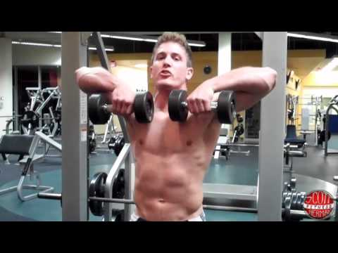 Dumbbell Seated Upright Row