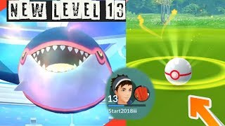 Download Youtube: New Level 13 Catching Kyogre! How to critical Catch Legendary Pokemon?