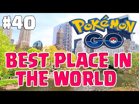 Video BEST PLACE IN THE WORLD TO CATCH EM ALL | Pokemon Go Adventures #40 New York City