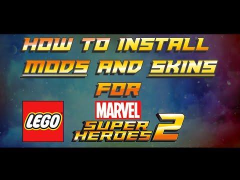 how do I install mods in lego marvel superheroes 2? :: LEGO