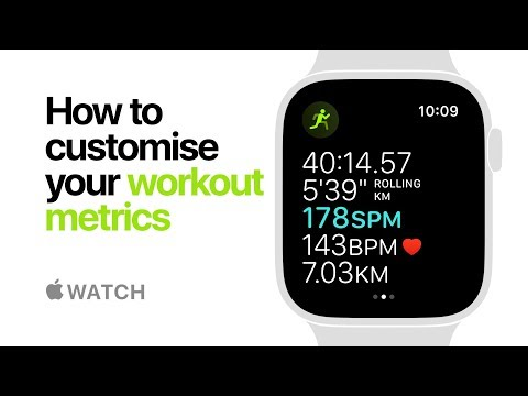 Apple Watch Series 4 — How to customise your workout metrics — Apple