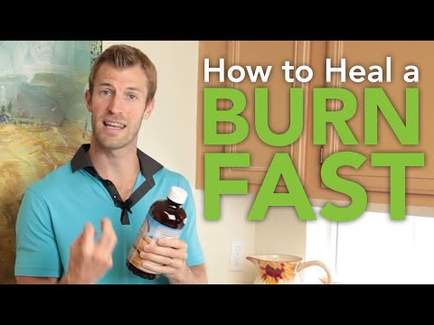 Video How to Heal a Burn Fast