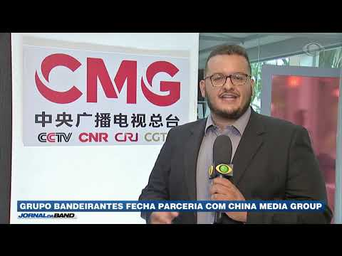Grupo Bandeirantes fecha parceria com a China Media Group