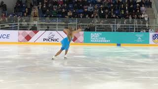 Танец Елены Радионовой памяти Дениса Тен