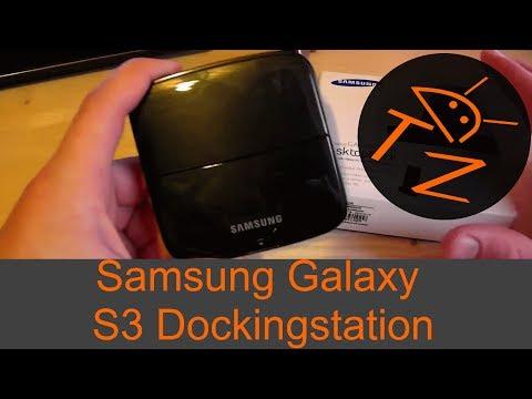 Geräte Test: Samsung galaxy S3 Docking Station