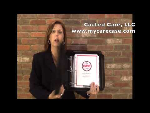 Support for the Care Giver - My Care Case -  a personal medical records organizer!