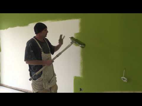 Painting & Decorating,How to roll a wall