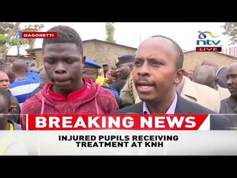 MP John Kiare speaks on Precious Talent School tragedy