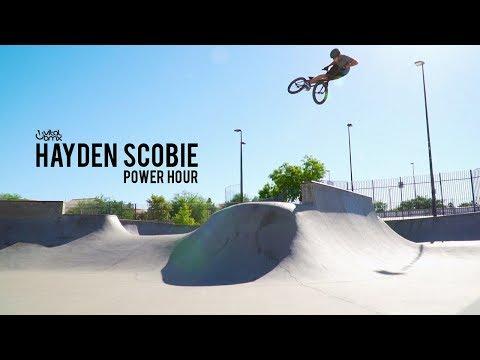Power Hour: Hayden Scobie at Anthem Skatepark