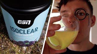 Das ISOCLEAR Whey Isolate von ESN im Test | Fitness Food Corner