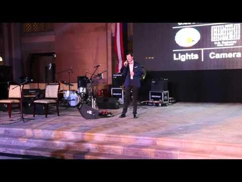 Kyle Ensley American Idol 7 Sings the National Anthem in Abu Dhabi