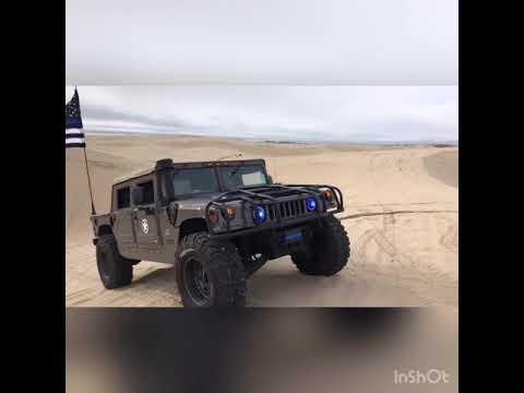 Hummer h1 humvee HMMWV kash, black rhino wheels, pitbull tires