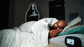 """""""THE NUN"""" PRANK ON ROOMMATE..(FUNNIEST REACTION EVER RECORDED!)"""