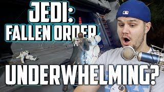 JEDI: FALLEN ORDER GAMEPLAY! Disappointing or Exciting? | Star Wars: Jedi Fallen Order