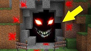 НЕЧТО НЕОБЪЯСНИМОЕ ЖИВЕТ В ЭТОЙ ПЕЩЕРЕ - Страшилка и ловушка Майнкрафт - Троллинг Нуба Minecraft нуб