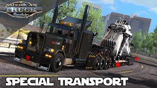 NEW SPECIAL TRANSPORT HEAVY HAUL MOD SHOWCASE for AMERICAN TRUCK SIMULATOR