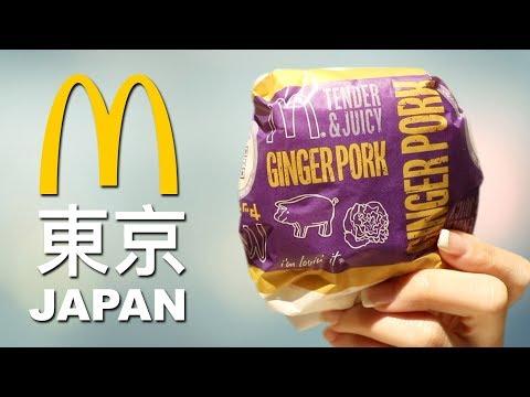 WE TRY McDONALD'S IN JAPAN - TOP 10