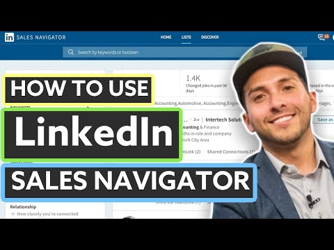 Download LinkedIn Sales Navigator Tutorial (2019) Mp4 HD Video and MP3