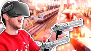 КРУТЕЙШИЙ ШУТЕР С OCULUS TOUCH! | Bullet Train (Oculus Rift)