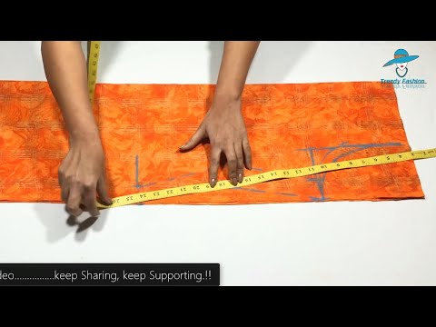 Narrow Salwars Suit/Kameez Cutting Very Easy Method Step By Step