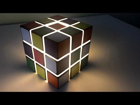 How To Make LED Cube Light