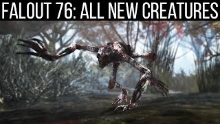 Every New Creature Coming in Fallout 76