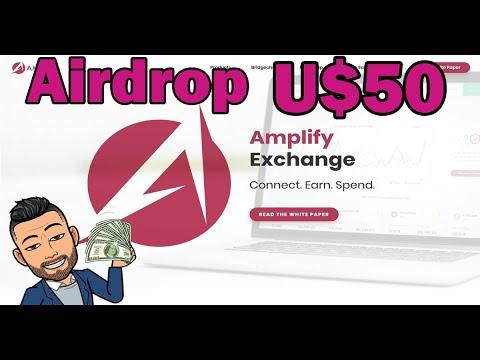 Ganhe dinheiro de GRAÇA na Exchange Amplify R$193 Reais. TEMPO LIMITADO!